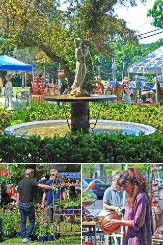 Spencertown Academy Arts CenterGarden Market on the Green June 20, 2015