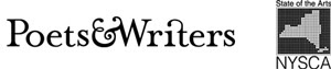 Poets and Writers logo and NYSCA logo