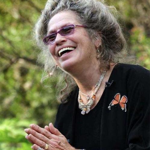 Butterfly expert and environmental activist Maraleen Manos Jones, AKA The Butterfly Woman