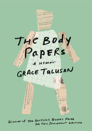 """Book cover for """"The Body Papers"""" a memoir by Grace Talusan"""