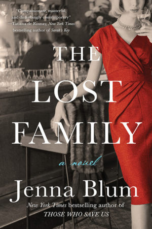 Cover of the Lost Family by Jenna Blum