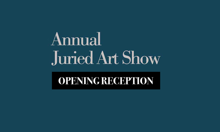 Opening Reception for Regional Juried Art Show