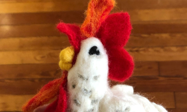 Needle Felting Workshop with Matha Belardo