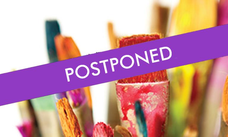 Art Show Postponed