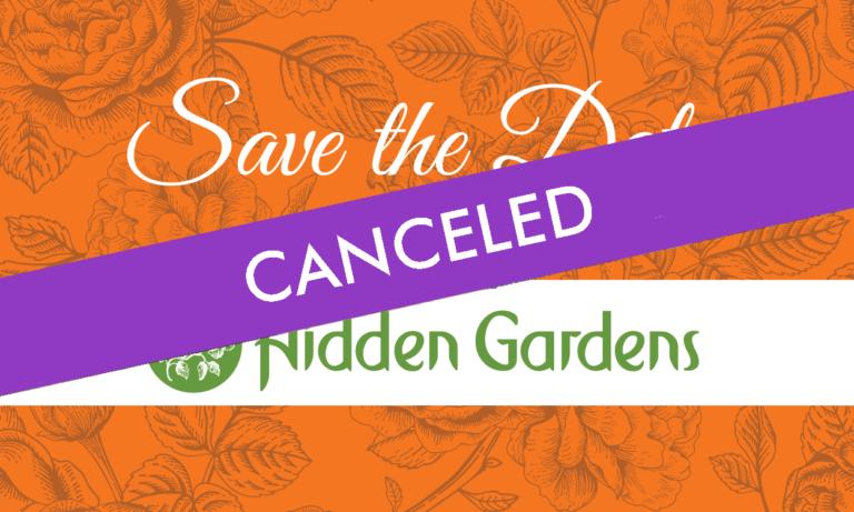 Hidden Gardens Canceled