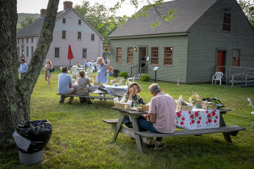 Spencertown Academy's Twilight in the Garden Party - 2021 - photo by Gerald Seligman