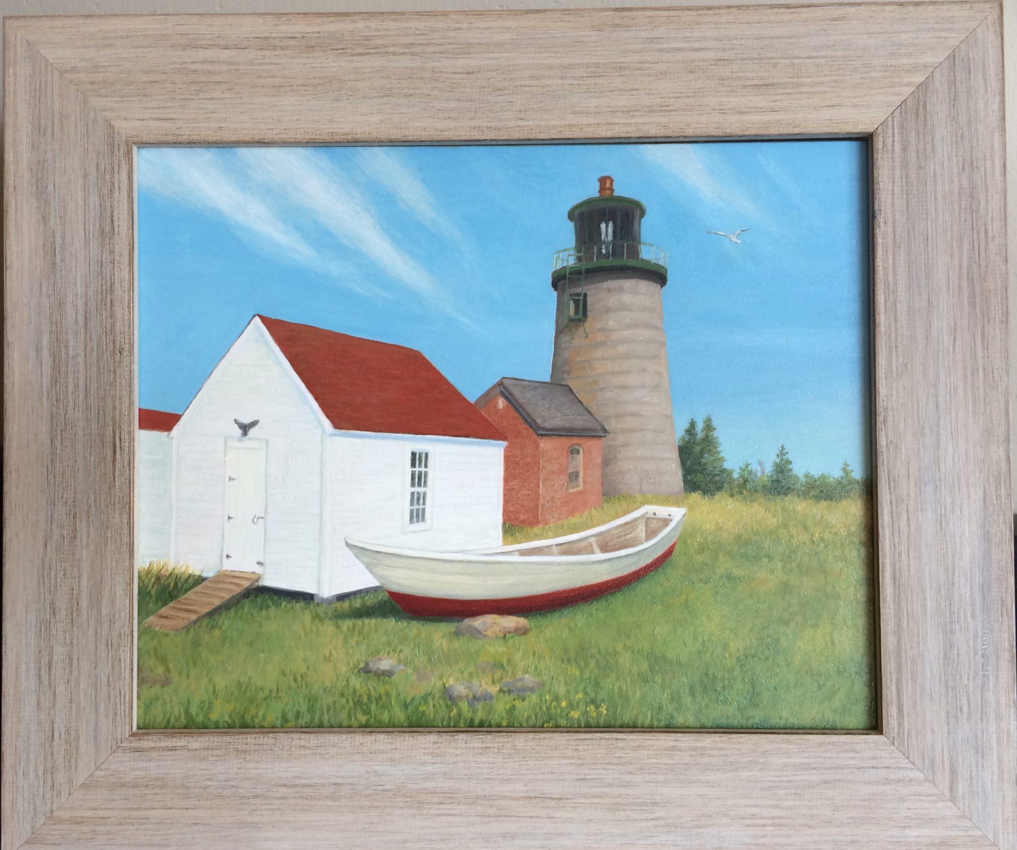 Guthridge, Robin 1 - Monhegan Island Lighthouse