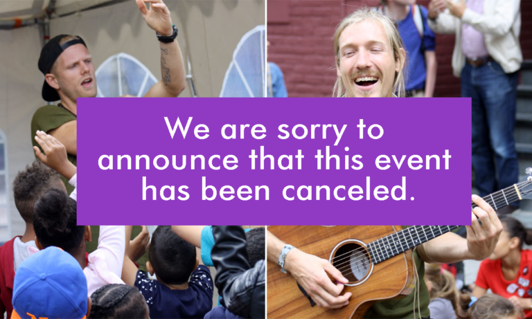 We are sorry to announce that this event has been canceled.