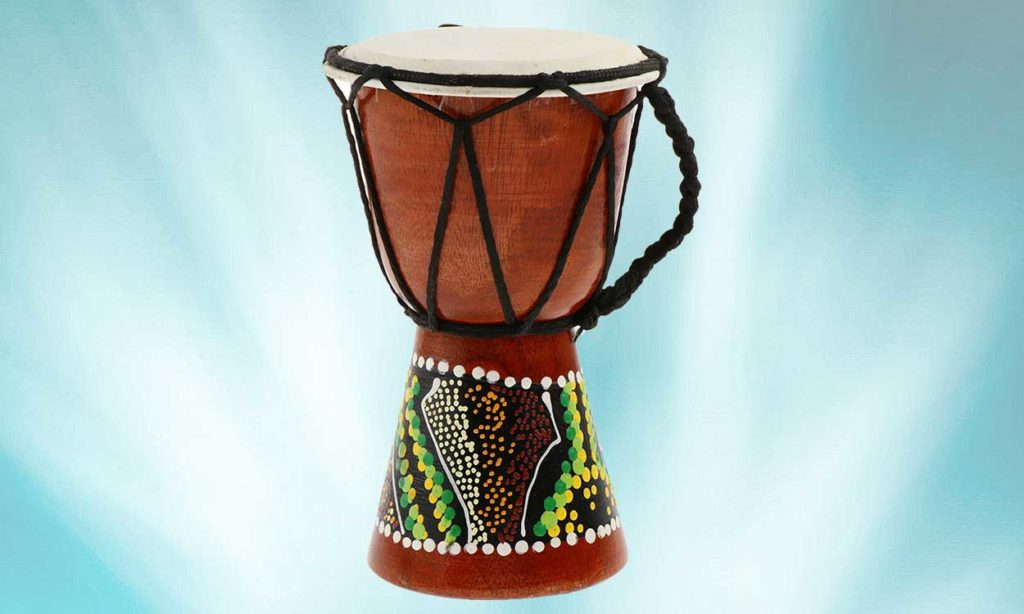 Djembe Drum - Drumming with Greg Mosely