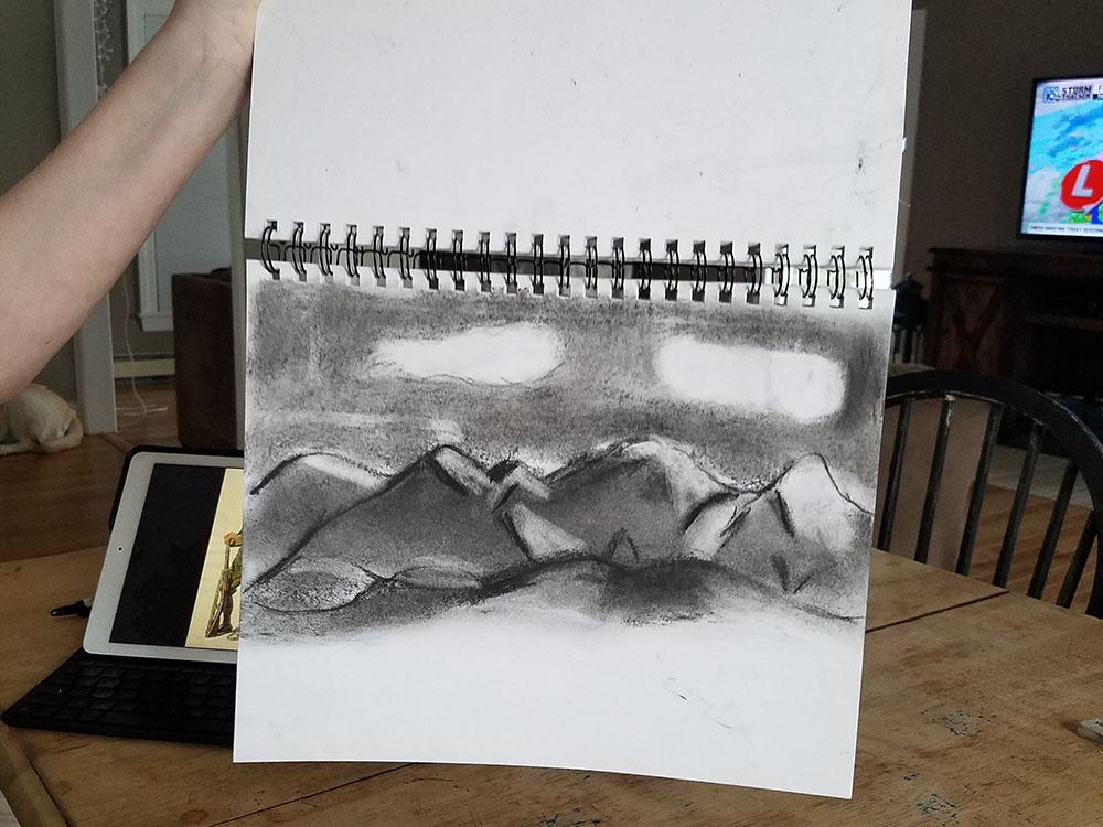 Levi Rifenburgh charcoal