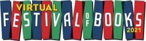 Virtual Festival of books logo 2021